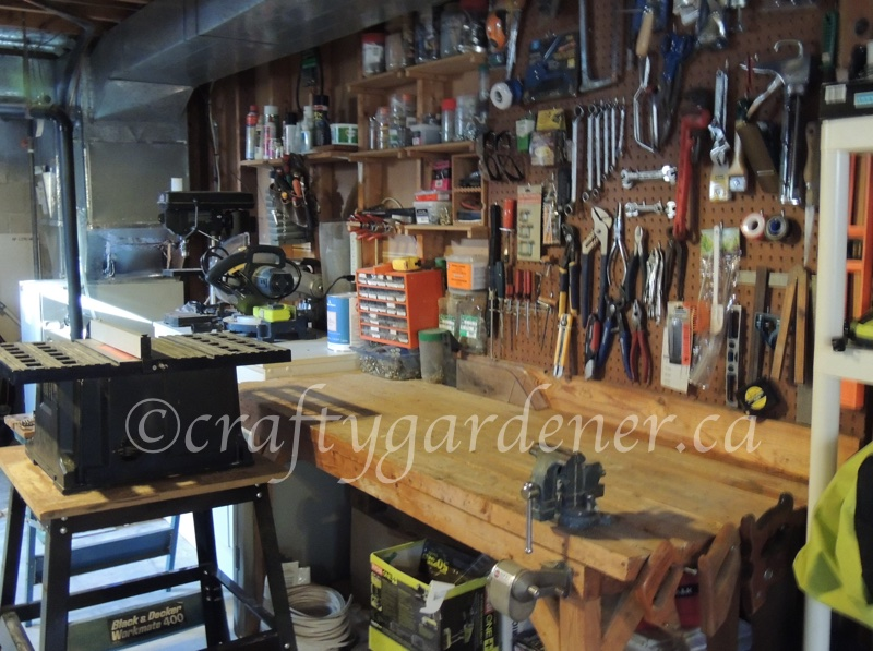 workbench at craftygardener.ca