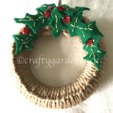 A Mini Wreath