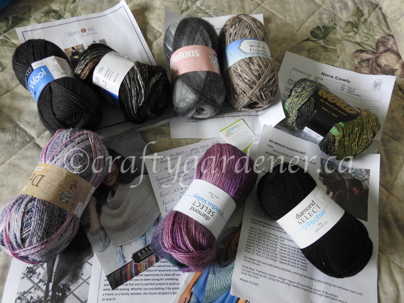 yarn purchases from the yarn crawl