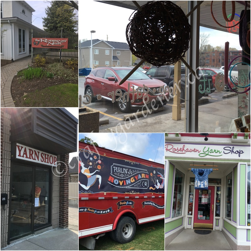 South Eastern Ontario Yarn Crawl