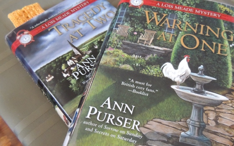 New Brooms mystery series by Ann Purser