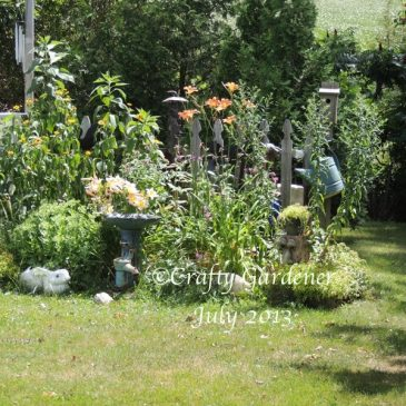 The Fence Garden in July