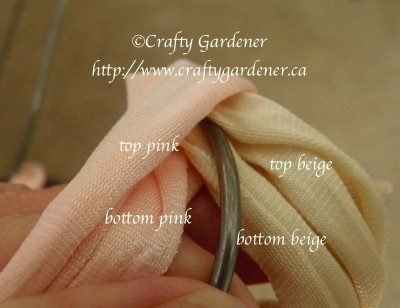 braided covered coat hangers from https://www.craftygardener.ca