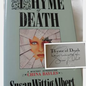 The China Bayles series by Susan Wittig Albert