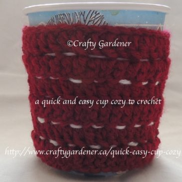 Quick and Easy Cup Cozy