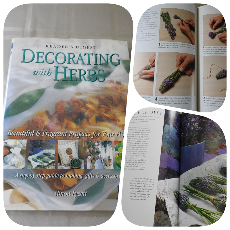 Decorating with Herbs from craftygardener.ca