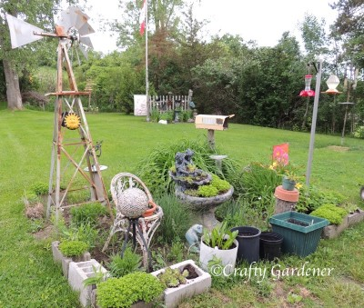 the windmill garden 2014 at craftygardener.ca
