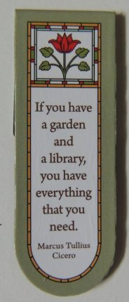 bookmark saying at craftygardener.ca