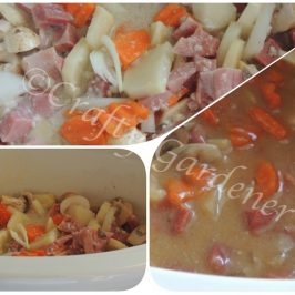 ham & potato soup recipe at craftygardener.ca