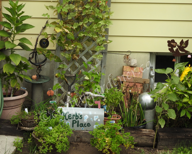 Herb's Place at craftygardener.ca