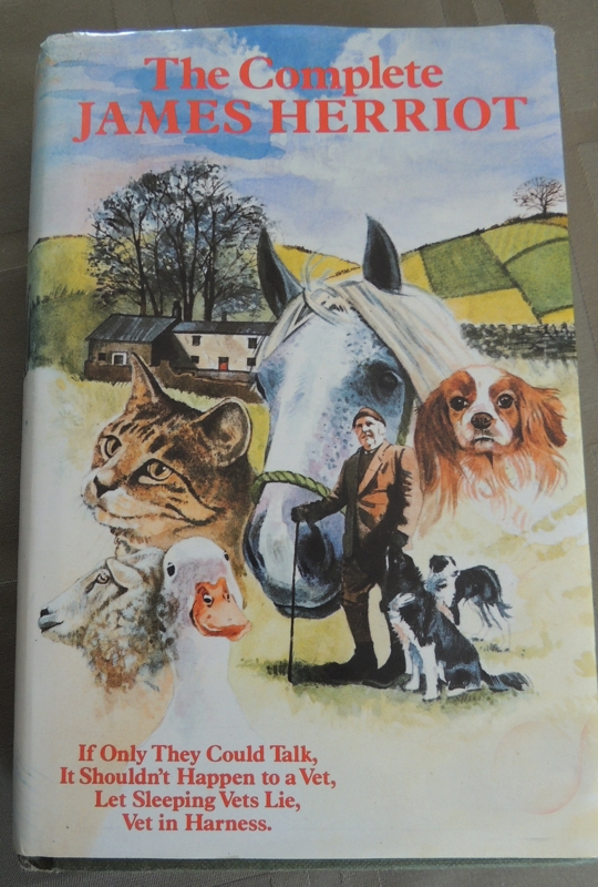James Herriot, series of books about his veterinary work