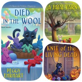 Knit & Nibble Mysteries by Peggy Ehrhart