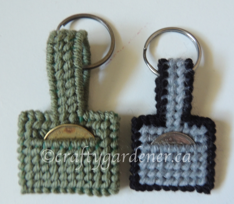 how to make a quarter or a loonie keeper at craftygardener.ca