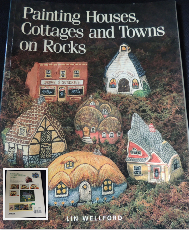 Painting Houses, Cottages and Towns on Rocks by Lin Wellford