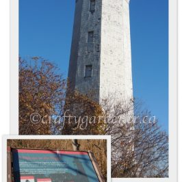 The Presqu'ile lighthouse at craftygardener.ca