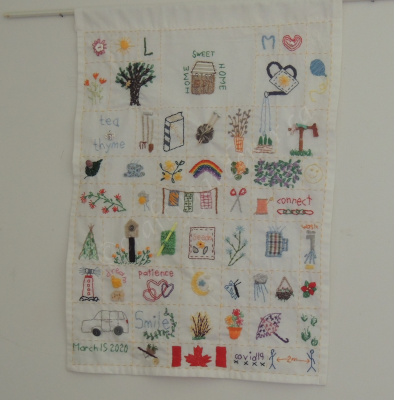 sew a little happiness project at craftygardener.ca
