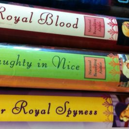 Her Royal Spyness a series by Rhys Bowen