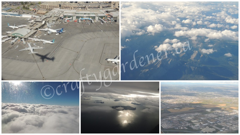 from the plane window travelling to BC at craftygardener.ca