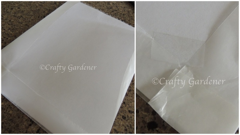 how to transfer a print image to wood at craftygardener.ca